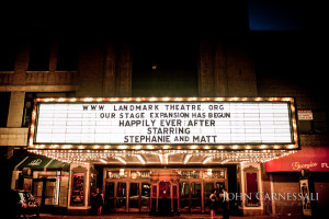 Stephanie and Matt Wedding Reception Photographs - Landmark Theatre