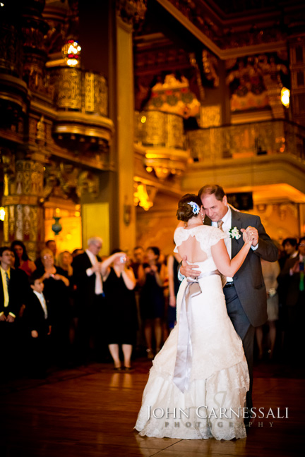 Landmark Theater Wedding